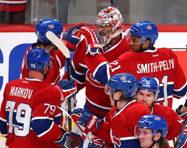 Ottawa Senators at Montreal Canadiens- 4/17/15 NHL Pick, Odds, and Prediction