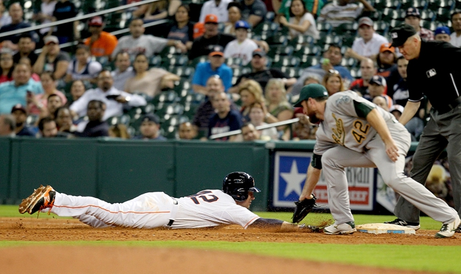 A's vs. Astros - 4/24/15 MLB Pick, Odds, and Prediction