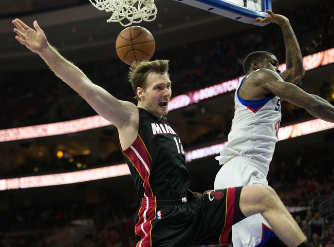 Miami Heat vs. Philadelphia 76ers - 11/21/15 NBA Pick, Odds, and Prediction