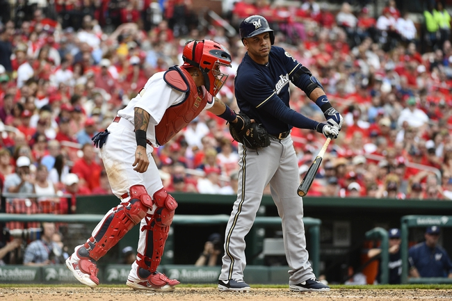 Brewers vs. Cardinals - 4/24/15 MLB Pick, Odds, and Prediction