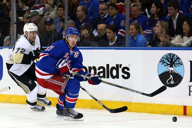 New York Rangers vs. Pittsburgh Penguins - 4/18/15 NHL Pick, Odds, and Prediction