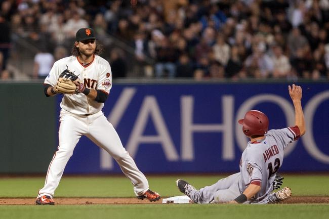 Giants vs. Diamondbacks - 4/17/15 MLB Pick, Odds, and Prediction