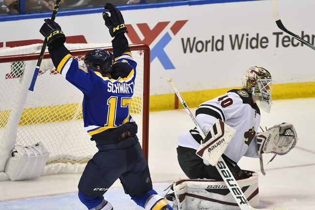 St. Louis Blues vs. Minnesota Wild - 4/18/15 NHL Pick, Odds, and Prediction
