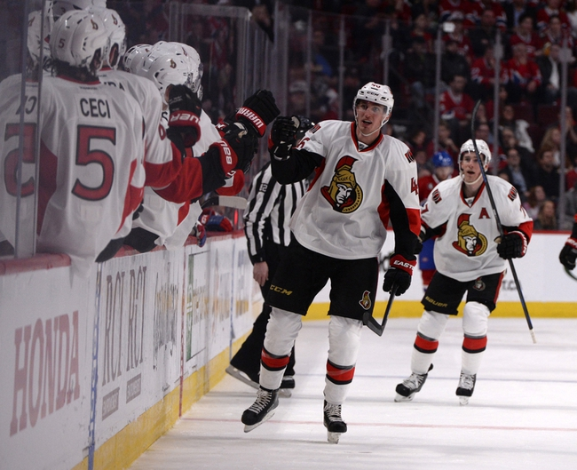 Ottawa Senators vs. Montreal Canadiens - 4/19/15 NHL Pick, Odds, and Prediction