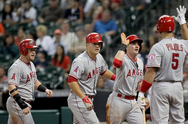 Houston Astros vs. Los Angeles Angels - 4/19/15 MLB Pick, Odds, and Prediction