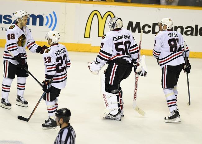Nashville Predators  at Chicago Blackhawks - 4/19/15 NHL Pick, Odds, and Prediction