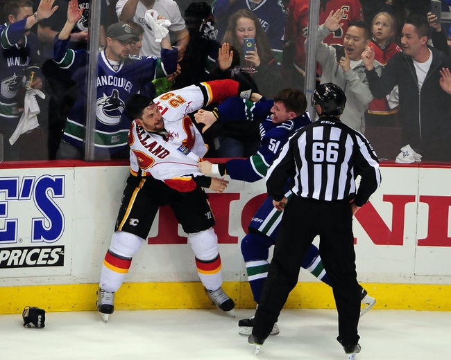 Calgary Flames vs. Vancouver Canucks - 4/19/15 NHL Pick, Odds, and Prediction