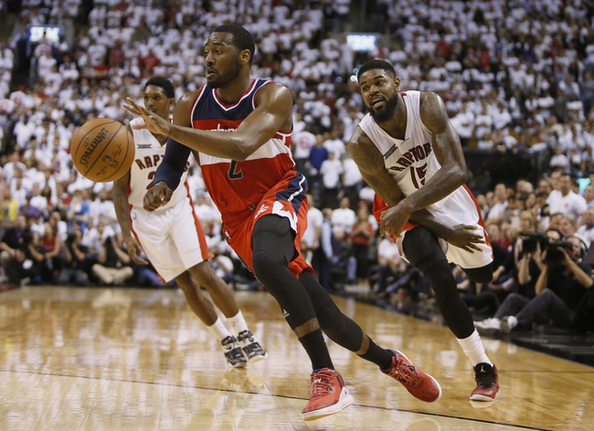Toronto Raptors vs. Washington Wizards - 4/21/15 NBA Pick, Odds, and Prediction