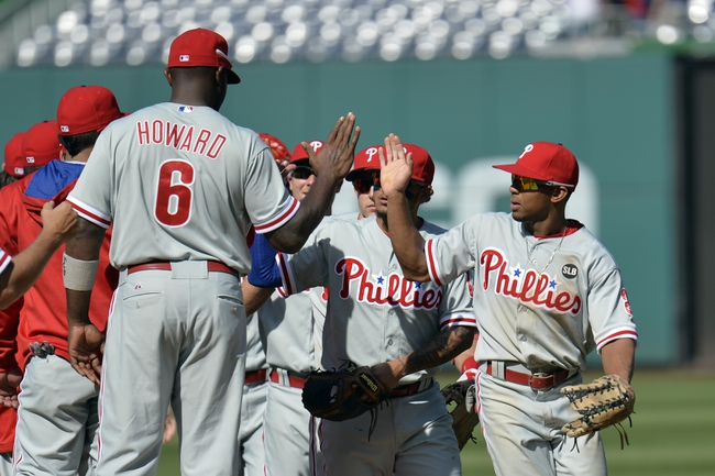 Nationals vs. Phillies - 4/19/15 MLB Pick, Odds, and Prediction