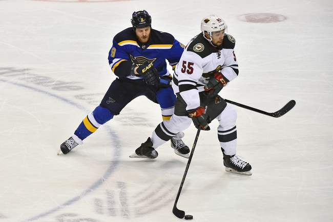 Minnesota Wild vs. St. Louis Blues - 4/20/15 NHL Pick, Odds, and Prediction
