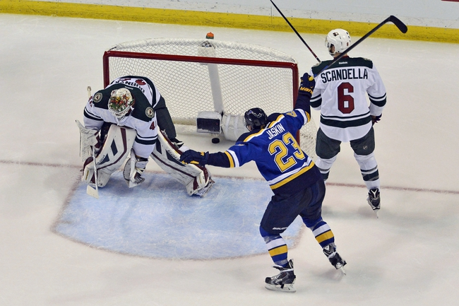 Blues at Wild - 4/20/15 NHL Pick, Odds, and Prediction