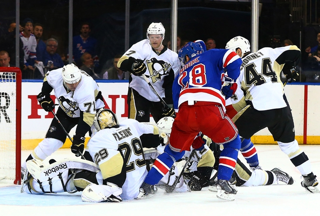 Pittsburgh Penguins vs. New York Rangers - 4/20/15 NHL Pick, Odds, and Prediction