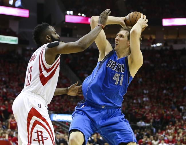 Houston Rockets vs. Dallas Mavericks - 4/21/15 NBA Pick, Odds, and Prediction