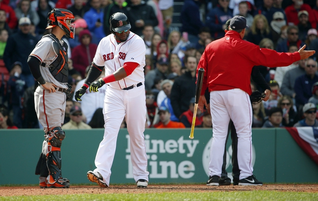 Red Sox vs. Orioles - 4/20/15 MLB Pick, Odds, and Prediction