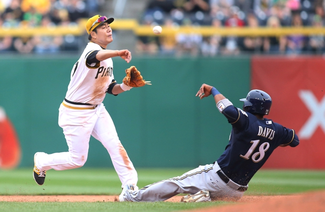 Pittsburgh Pirates vs. Milwaukee Brewers - 6/8/15 MLB Pick, Odds, and Prediction