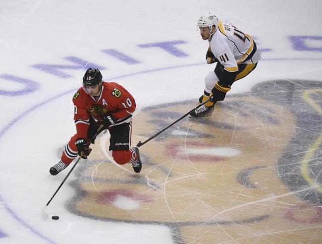 Chicago Blackhawks vs. Nashville Predators - 4/21/15 NHL Pick, Odds, and Prediction