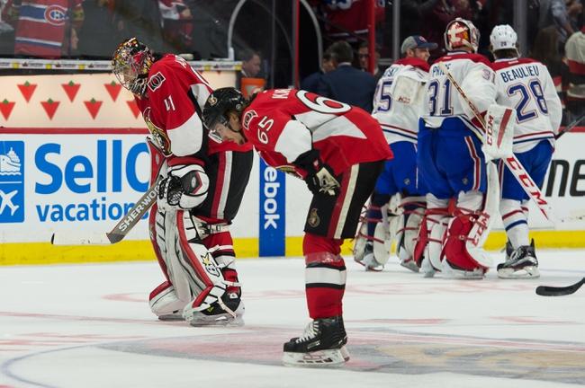Ottawa Senators vs. Montreal Canadiens - 4/22/15 NHL Pick, Odds, and Prediction