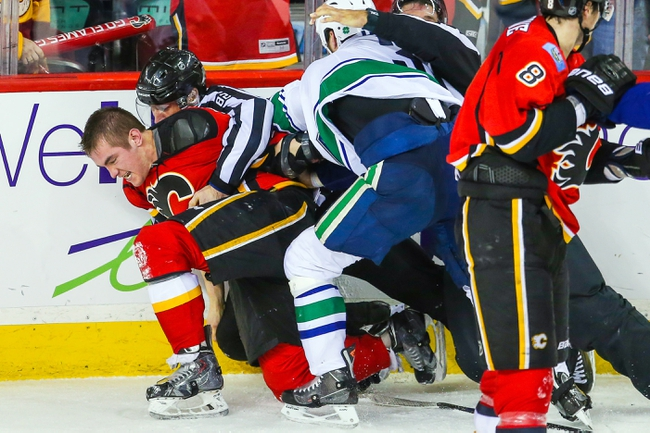 Vancouver Canucks at Calgary Flames- 4/21/15 NHL Pick, Odds, and Prediction
