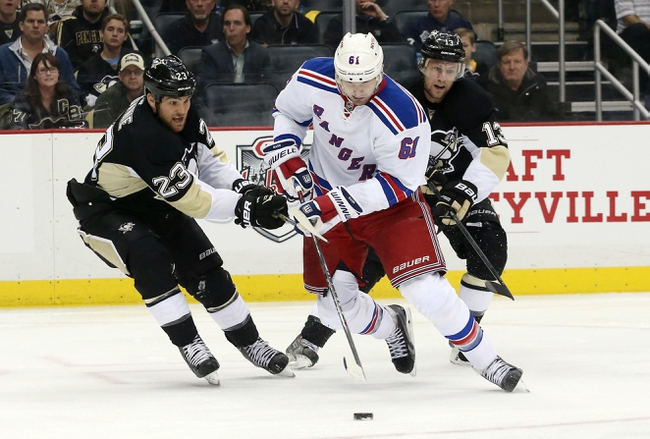 New York Rangers at Pittsburgh Penguins - 4/22/15 NHL Pick, Odds, and Prediction