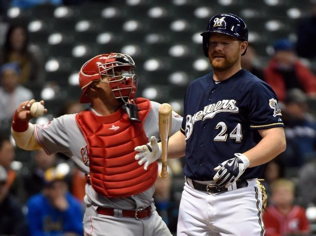Milwaukee Brewers vs. Cincinnati Reds - 4/21/15 MLB Pick, Odds, and Prediction