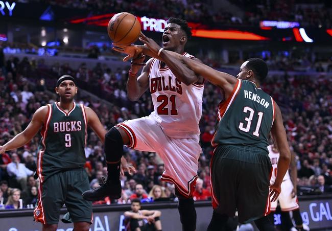 Bulls at Bucks - 4/23/15 NBA Pick, Odds, and Prediction