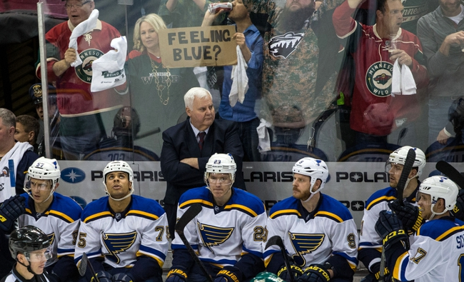 Minnesota Wild vs. St. Louis Blues - 4/22/15 NHL Pick, Odds, and Prediction