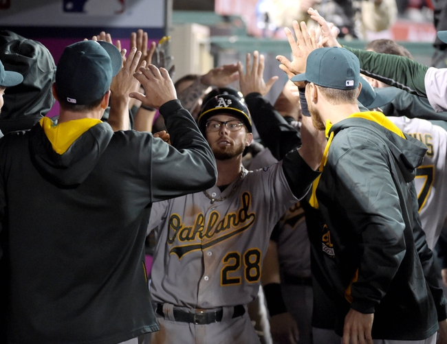 Angels vs. A's - 4/21/15 MLB Pick, Odds, and Prediction