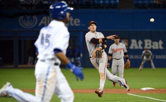 Toronto Blue Jays vs. Baltimore Orioles - 4/22/15 MLB Pick, Odds, and Prediction