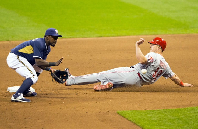 Brewers vs. Reds - 4/23/15 MLB Pick, Odds, and Prediction