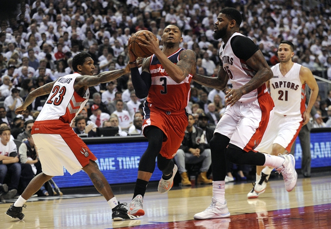 Raptors at Wizards - 4/24/15 NBA Pick, Odds, and Prediction