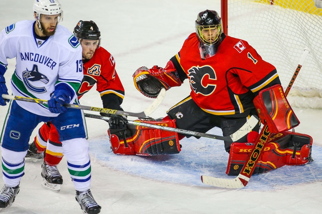 Calgary Flames at Vancouver Canucks- 4/23/15 NHL Pick, Odds, and Prediction