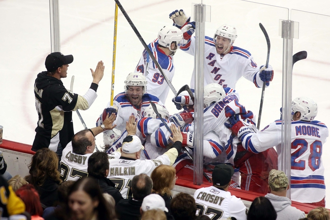 New York Rangers vs. Pittsburgh Penguins - 4/24/15 NHL Pick, Odds, and Prediction