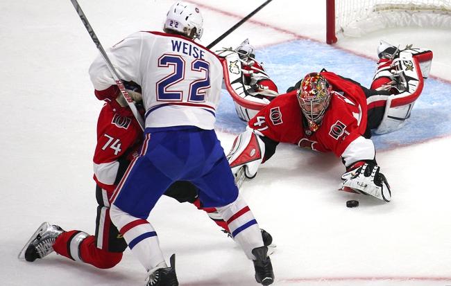 Montreal Canadiens vs. Ottawa Senators - 4/24/15 NHL Pick, Odds, and Prediction