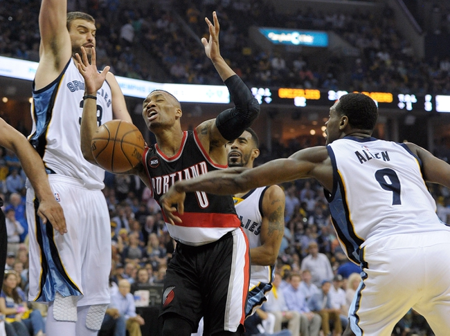 Grizzlies at Trail Blazers - 4/25/15 NBA Pick, Odds, and Prediction