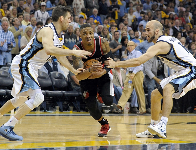 Portland Trail Blazers vs. Memphis Grizzlies - 4/25/15 NBA Pick, Odds, and Prediction