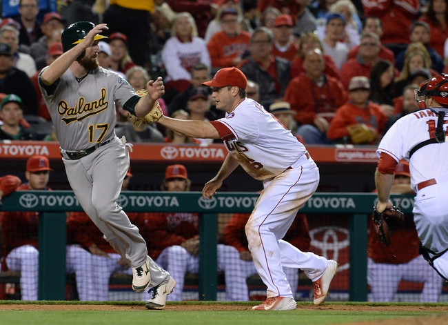 Angels vs. A's - 4/23/15 MLB Pick, Odds, and Prediction