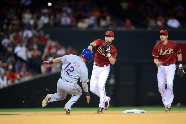 Texas Rangers vs. Arizona Diamondbacks - 7/7/15 MLB Pick, Odds, and Prediction