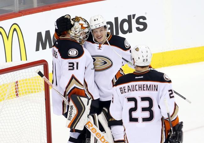 Anaheim Ducks vs. Winnipeg Jets - 1/3/16 NHL Pick, Odds, and Prediction