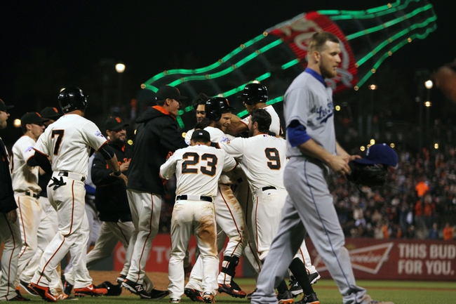 Giants vs. Dodgers - 4/23/15 MLB Pick, Odds, and Prediction