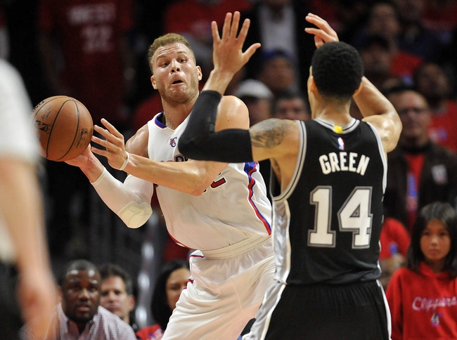San Antonio Spurs vs. Los Angeles Clippers - 4/24/15 NBA Pick, Odds, and Prediction
