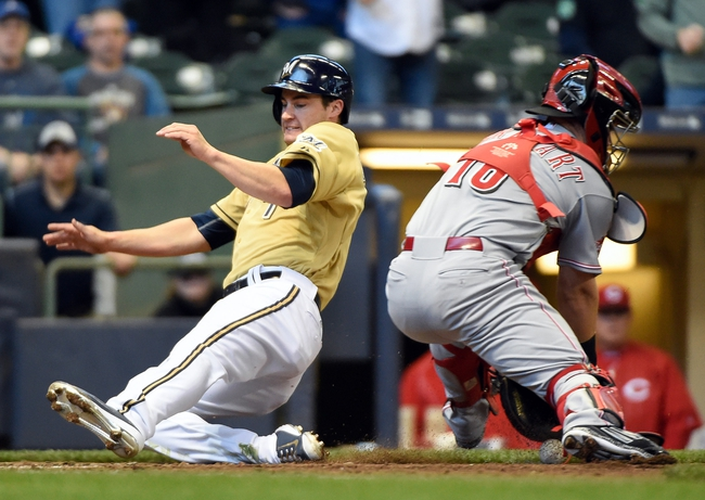 Cincinnati Reds vs. Milwaukee Brewers - 4/27/15 MLB Pick, Odds, and Prediction