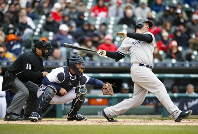 New York Yankees vs. Detroit Tigers - 6/19/15 MLB Pick, Odds, and Prediction