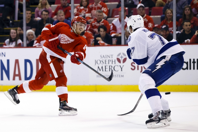 Tampa Bay Lightning vs. Detroit Red Wings - 4/25/15 NHL Pick, Odds, and Prediction