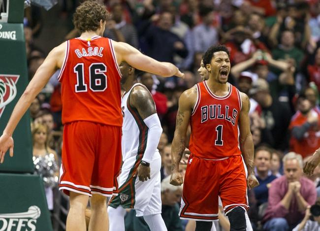 Milwaukee Bucks vs. Chicago Bulls - Game 4 - 4/25/15 NBA Pick, Odds, and Prediction