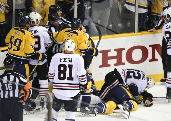 Nashville Predators at Chicago Blackhawks- 4/25/15 NHL Pick, Odds, and Prediction
