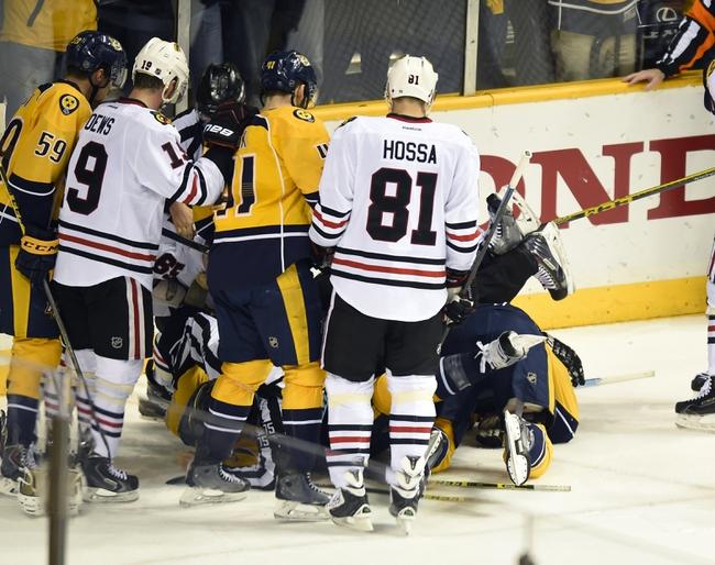 Chicago Blackhawks vs. Nashville Predators - 4/25/15 NHL Pick, Odds, and Prediction