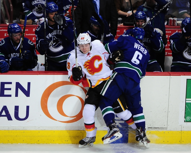 Calgary Flames vs. Vancouver Canucks - 4/25/15 NHL Pick, Odds, and Prediction