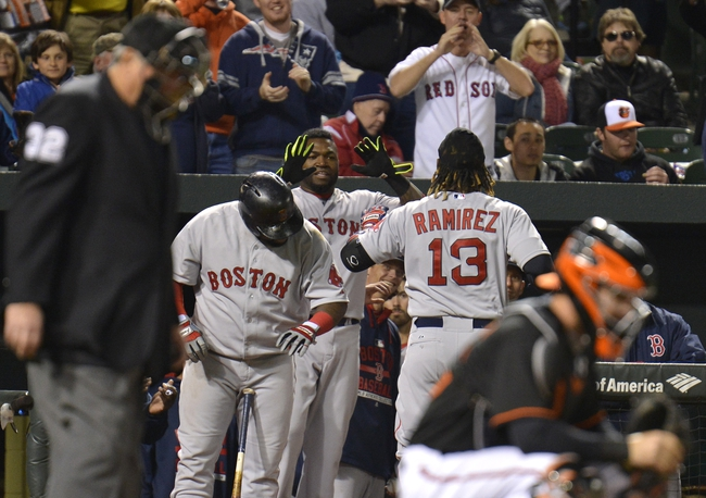 Orioles vs. Red Sox - 4/25/15 MLB Pick, Odds, and Prediction