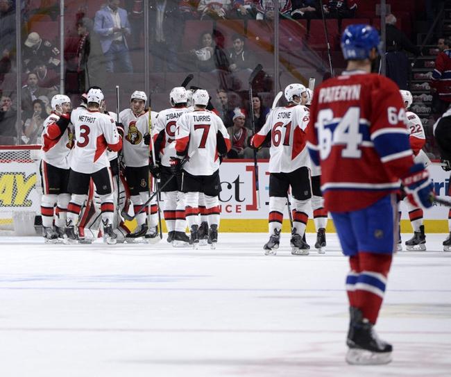 Ottawa Senators vs. Montreal Canadiens - 4/26/15 NHL Pick, Odds, and Prediction