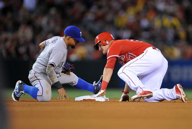 Angels vs. Rangers - 4/25/15 MLB Pick, Odds, and Prediction
